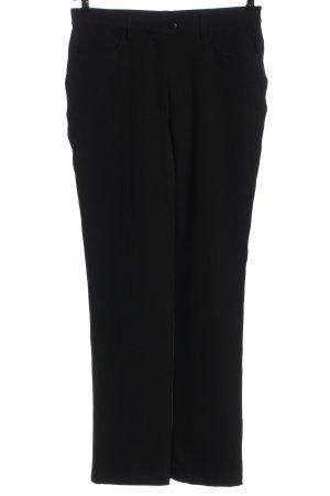 Chervo Stoffen broek zwart zakelijke stijl