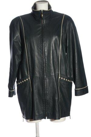 Chevignon Płaszcz przejściowy czarny-w kolorze białej wełny W stylu casual