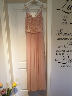 Chi Chi London Evening Dress dusky pink