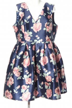 Chi Chi London Abendkleid Allover-Druck Casual-Look