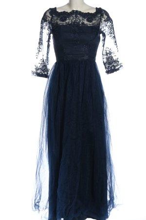 Chi Chi London Abendkleid blau Elegant