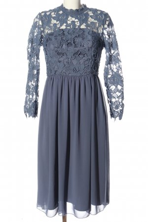 Chi Chi London Evening Dress blue casual look