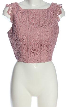 Chi Chi London Bluzka bez rękawów różowy W stylu casual