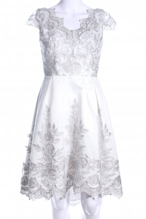 Chi Chi London Cocktail Dress white elegant