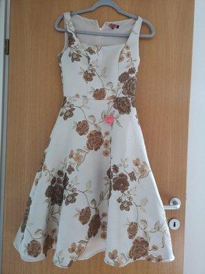 Chi Chi London Sukienka z halką jasnobeżowy