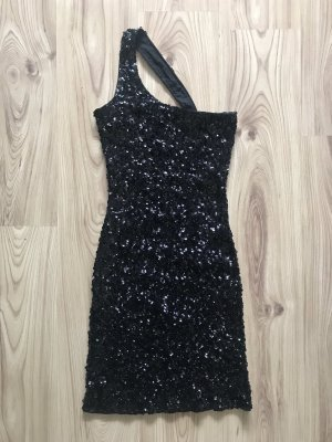 Chi Chi London Sequin Dress black
