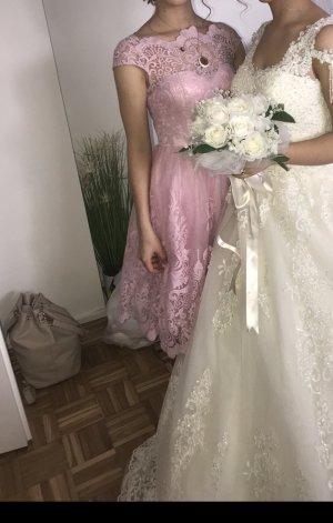 Chi Chi London Ball Dress light pink