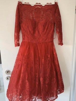 Chi Chi London Evening Dress red