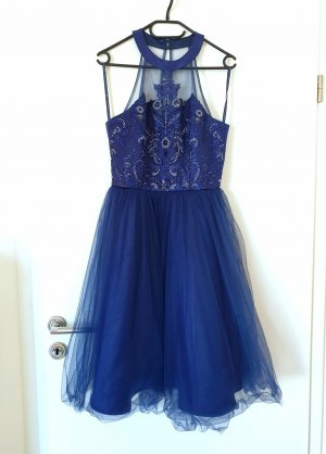 Chi Chi London Evening Dress blue-dark blue