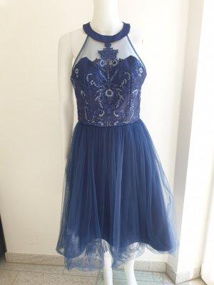 Chi Chi London Evening Dress blue-dark blue