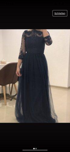 Chi Chi London Suknia balowa ciemnoniebieski