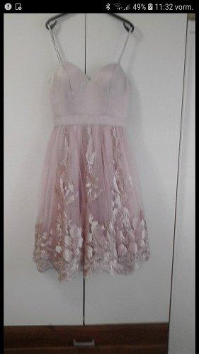 Chi Chi London Shortsleeve Dress dusky pink