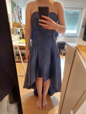 Chi Chi London Off-The-Shoulder Dress blue polyester