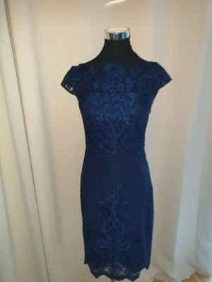 Chi Chi London Midi Dress blue