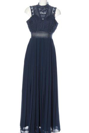 Chi Chi London Maxikleid blau Elegant