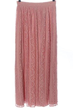 Chi Chi London Maxirock pink Casual-Look