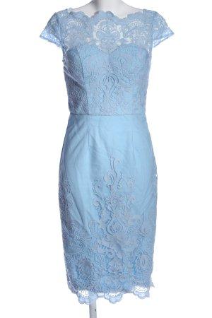 Chi Chi London Midikleid blau Elegant