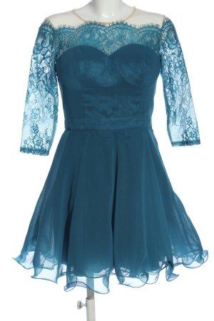 Chi Chi London Sukienka mini turkusowy Elegancki