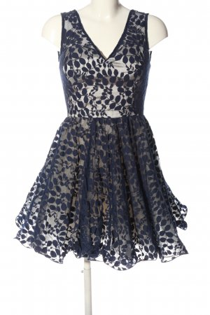 Chi Chi London Minikleid blau Casual-Look