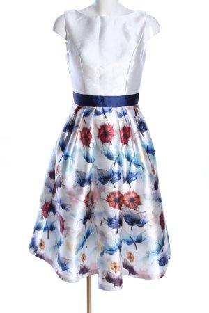 Chi Chi London Petticoat Dress flower pattern elegant