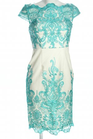 Chi Chi London Lace Dress natural white-turquoise elegant