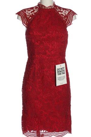 Chi Chi London Lace Dress red elegant