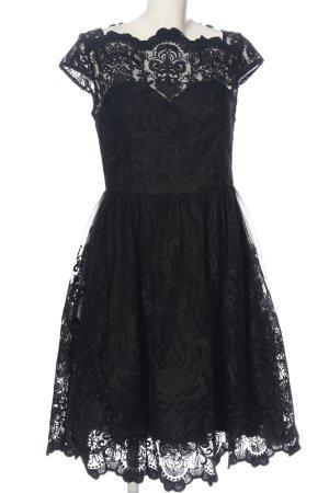 Chi Chi London Spitzenkleid schwarz Elegant