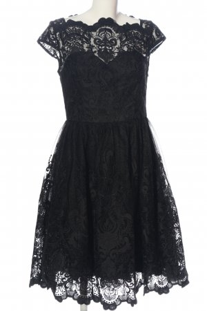 Chi Chi London Koronkowa sukienka czarny Elegancki