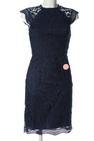 Chi Chi London Spitzenkleid blau Elegant