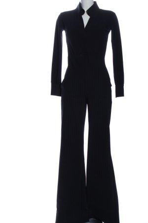 Chiara Boni Jumpsuit zwart-lichtgrijs volledige print casual uitstraling