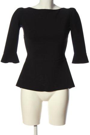 Chiara Boni Slip-over blouse zwart casual uitstraling