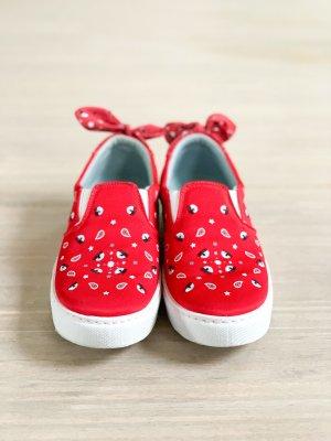 Chiara Ferragni Sneakersy wciągane czerwony