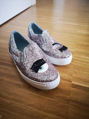 Chiara Ferragni Slip-on Sneakers multicolored