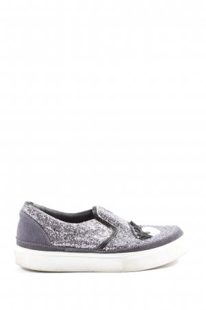 Chiara Ferragni Wedge Sneaker light grey casual look
