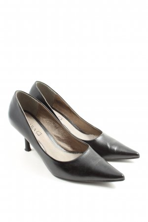 Chiara Talons hauts noir style d'affaires