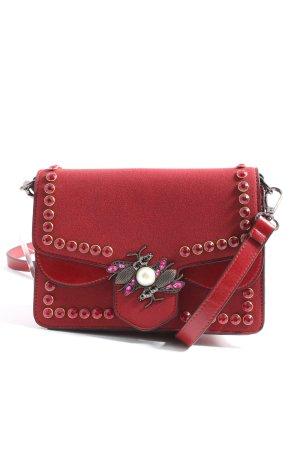 Chiara Mazzini Enveloptas rood zakelijke stijl