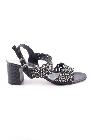 Chiara Pasquini Riemchen-Sandaletten schwarz Casual-Look