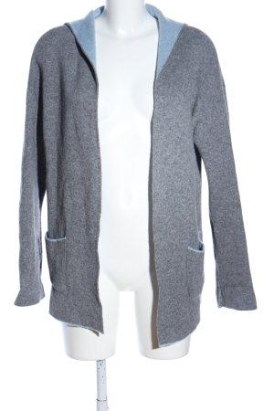 Chiaramente Wool Jacket light grey flecked casual look