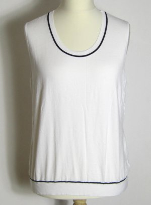 Knitted Top white-black