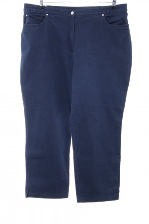 Chic Fabiani Hoge taille jeans blauw casual uitstraling