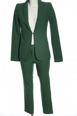 Chic Trouser Suit green business style