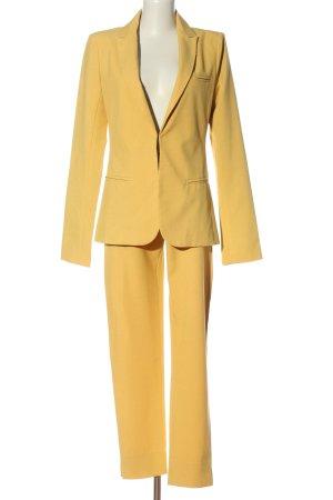 Chic Tailleur-pantalon jaune primevère style d'affaires