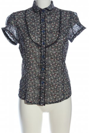 chic & jeune Shirt met korte mouwen volledige print elegant