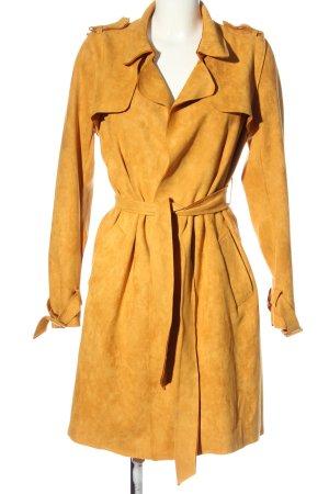 chic & jeune Between-Seasons-Coat light orange casual look