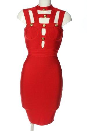 Chic Tubejurk rood elegant