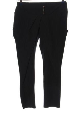Chic & Mit Spodnie materiałowe czarny W stylu casual