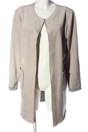 Chic & Mit Płaszcz przejściowy jasnoszary W stylu casual