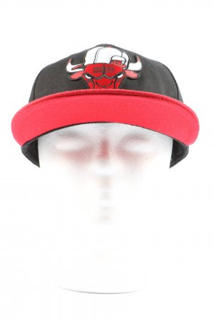 chicago Bulls Visor Cap black-red casual look