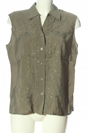 Chicc Blouse Top khaki casual look