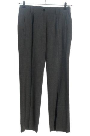 Chicc Pantalone a pieghe grigio chiaro stile professionale